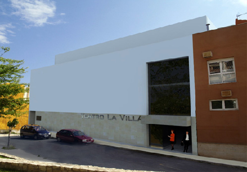 Proyecto para teatro en Tibi.
